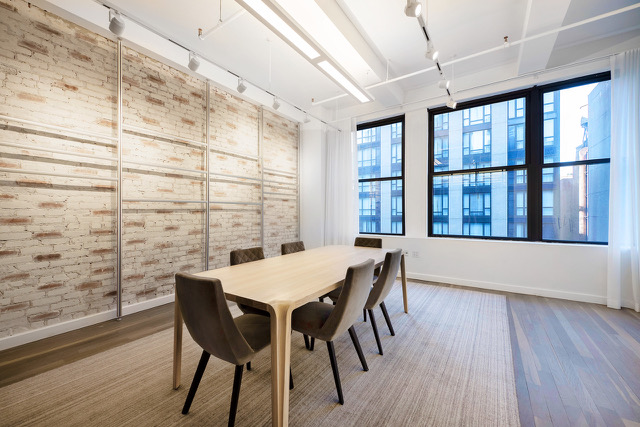 View of condo office suite at 35 West 36th Street - Rudder Property Group