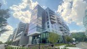 Completed view of Riverhouse 9 - Courtesy of Mack-Cali Realty Corporation