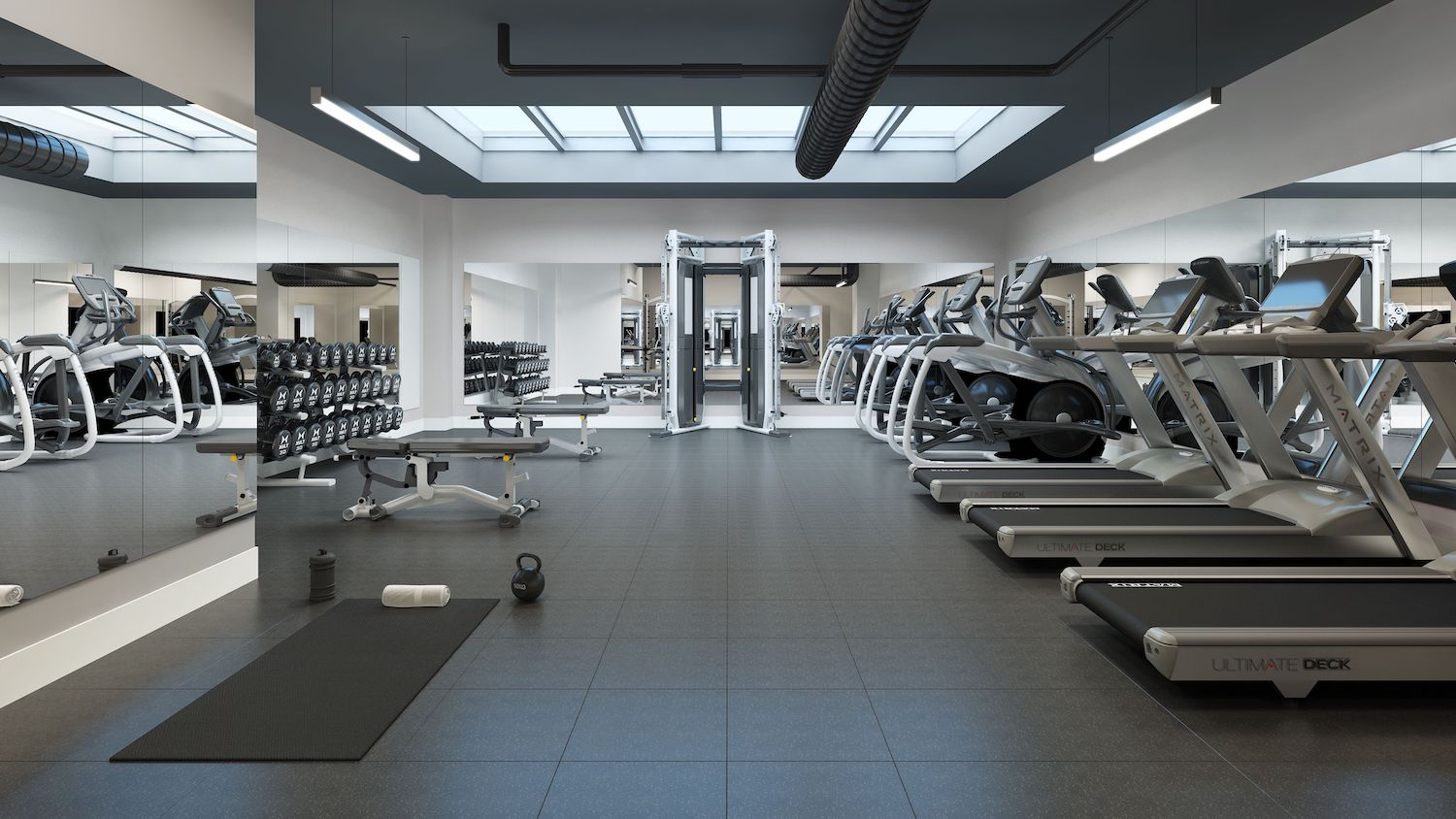 Gym at 232 East 54th Street