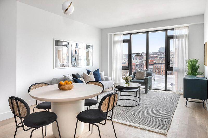 Model apartment at Eleven Hancock - Photo credit Katherine Marks