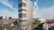 Rendering of 425 Grand Concourse - Courtesy of Dattner Architects