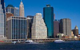 View of 120 Wall Street (center) - Silverstein Properties