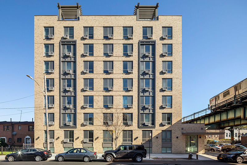 View of Edwin's Place (7 Livonia Avenue) - Courtesy of Francis Dzikowski