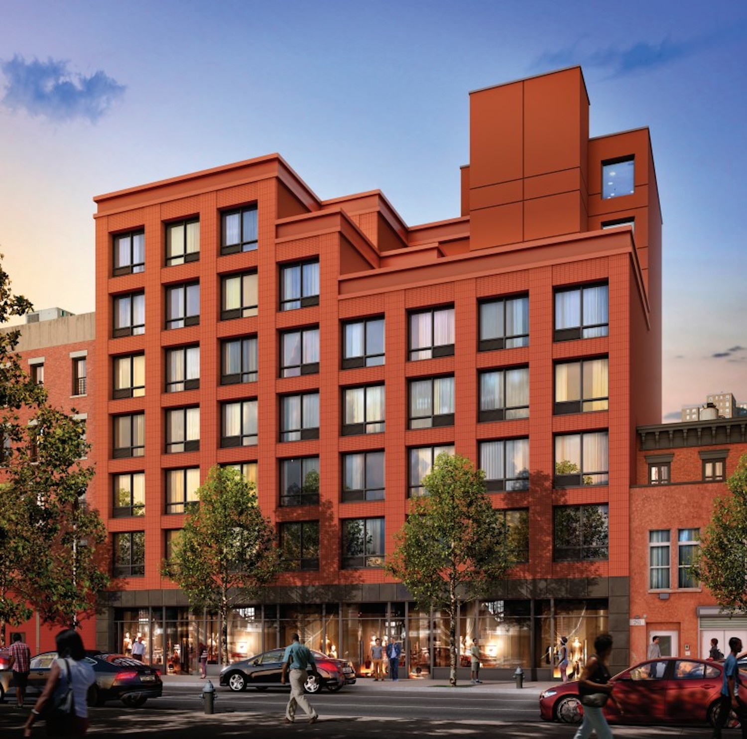 Balton Commons at 267 West 126th Street in Harlem, Manhattan. Courtesy of NYC Housing Connect