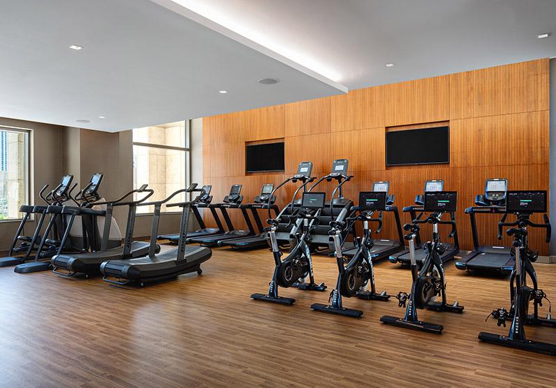 Fitness center at 99 Hudson