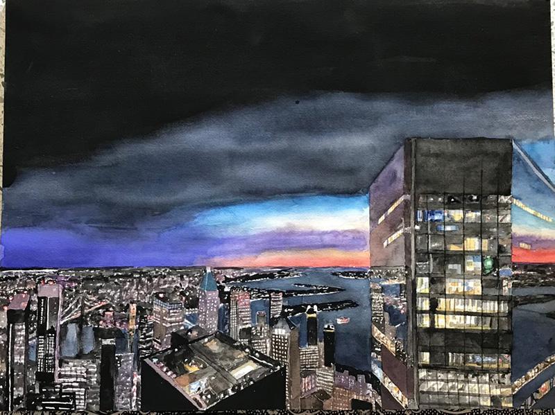 Nocturne Over Brooklyn - Todd Stone 2021