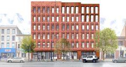 Rendering of 361 Main Street - MASS Design Group