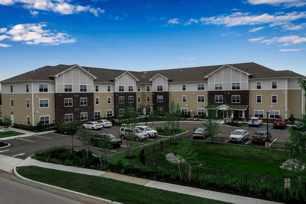 Rendering of Alberta Place - Belmont Housing Resources for WNY