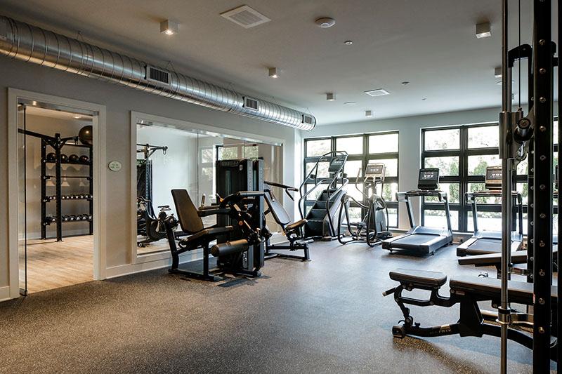 Clarus Glen Ridge fitness center - JMF Properties