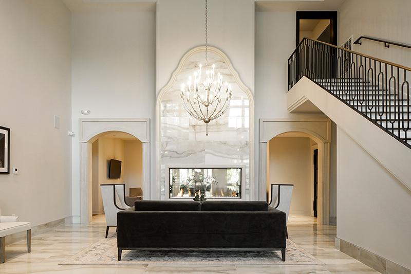 Clarus Glen Ridge lobby lounge - JMF Properties