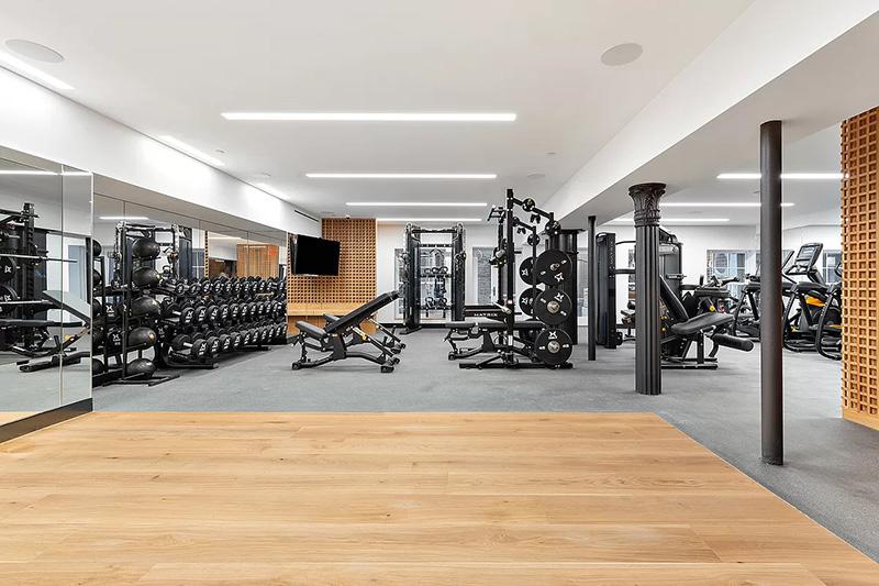 Fitness center at 51-53 White Street