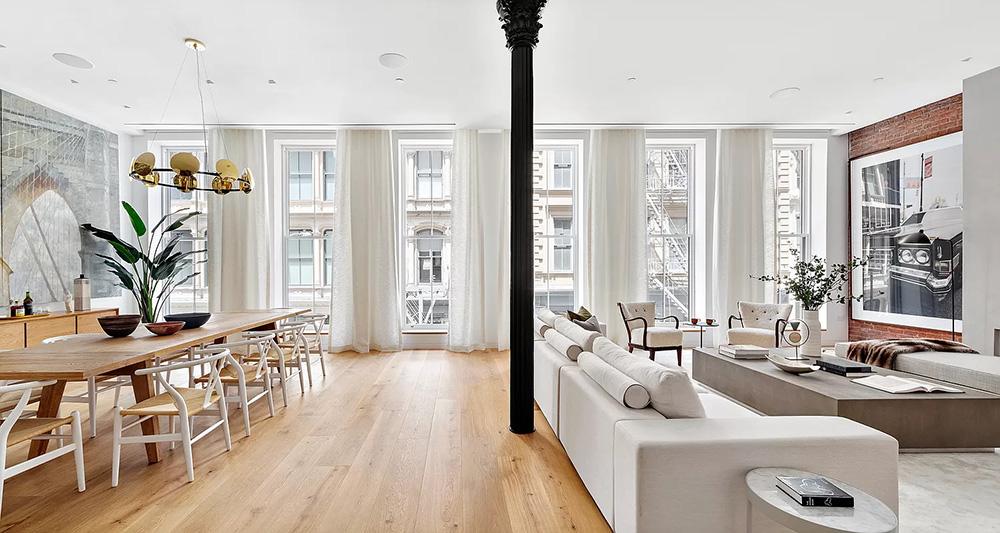 Model apartment at 51-53 White Street