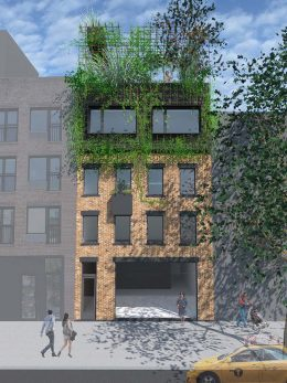 Rendering of 155 Wythe Avenue - Courtesy of Spacecutter
