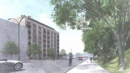 Rendering of 1640-1642 Anthony Avenue - Robert A.M. Stern