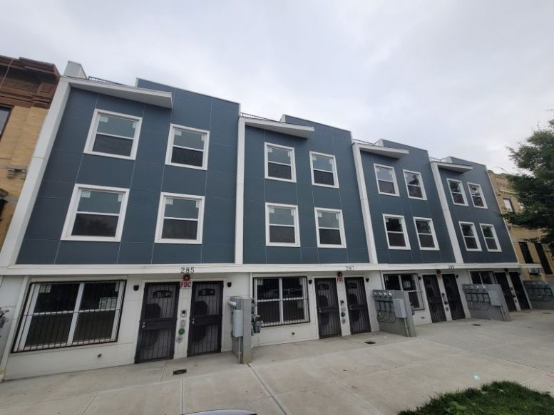 View of an affordable housing property created as part of the Blake Hendrix Project - New York City Department of Housing Preservation and Development (HPD)