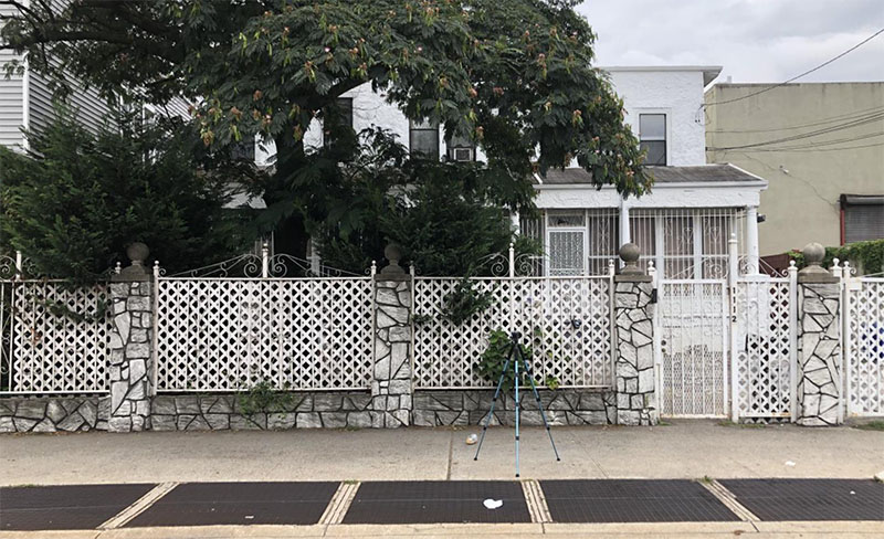 Existing property at 11-12 Wyckoff Avenue