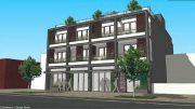Preliminary rendering of 11-12 Wyckoff Avenue - ARC Architecture + Design