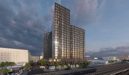 Rendering of Archer Towers - Courtesy of STUDIO V Architecture