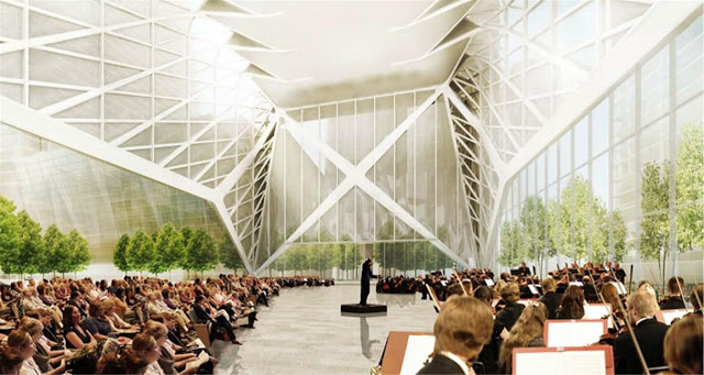 The Hudson Yards Culture Shed