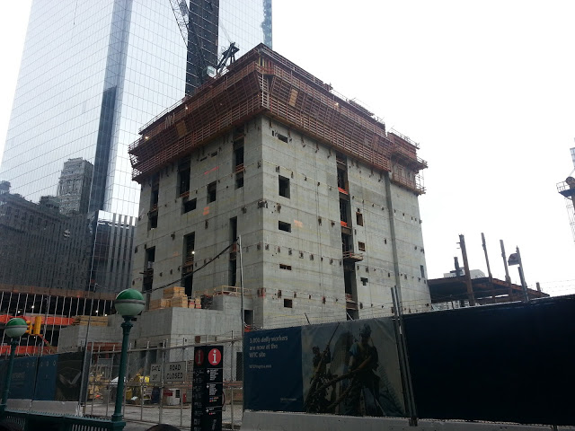175 Greenwich/Three World Trade Center under construction, July 2012