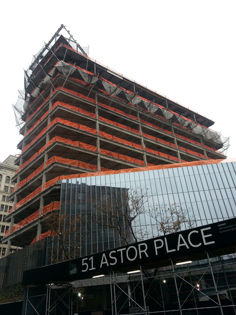 51 Astor Place NYC 2012