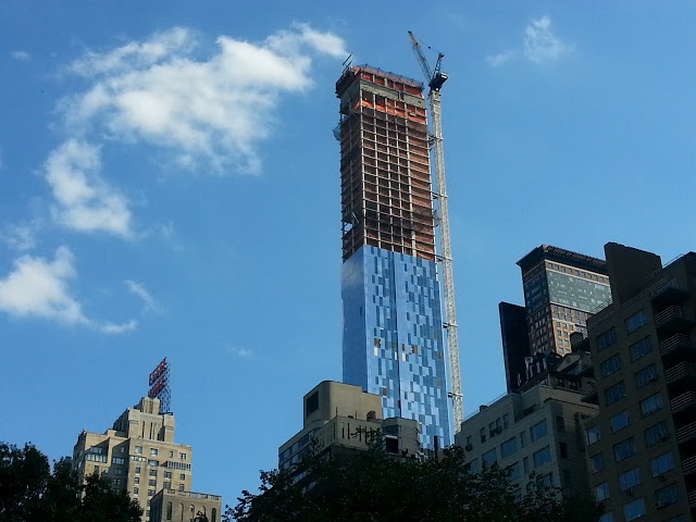 157 West 57th Street Construction