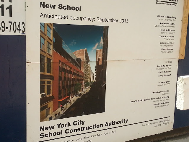 New School at 10 East 15th Street