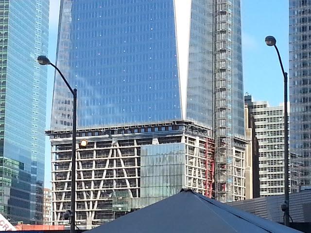 One World Trade Center base cladding