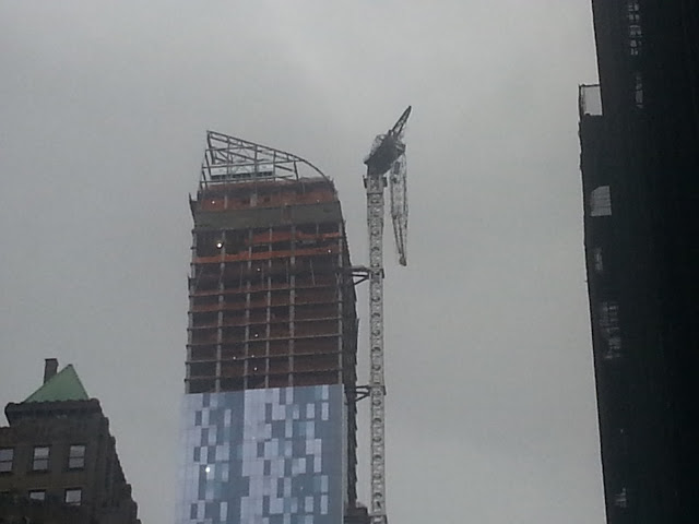 Tower Crane Ny : Update on the one crane collapse new york yimby