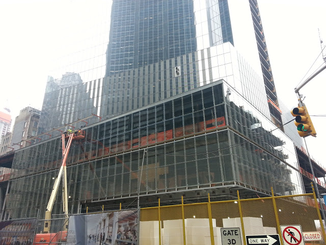 Base of 150 Greenwich Street