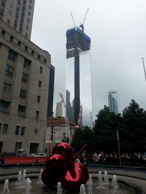 150 Greenwich Street/Four World Trade Center July 2012 Construction