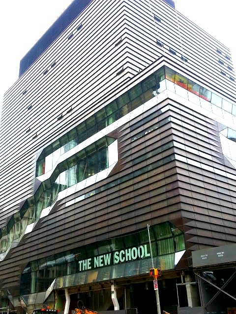 The New School expansion at 65 Fifth Avenue