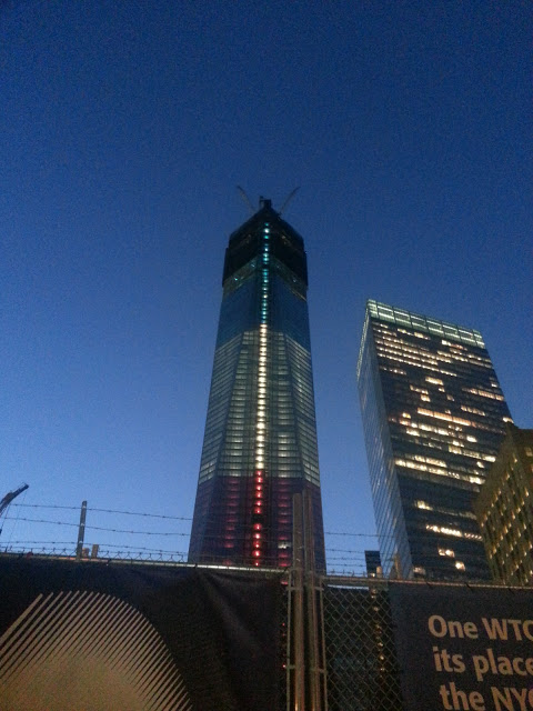 One World Trade Center NYC 2012