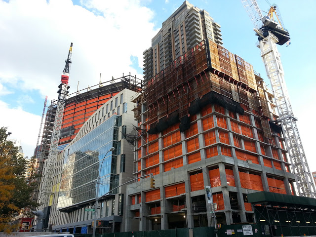 Fordham Law School/Dormitory and 160 West 62nd Street NYC