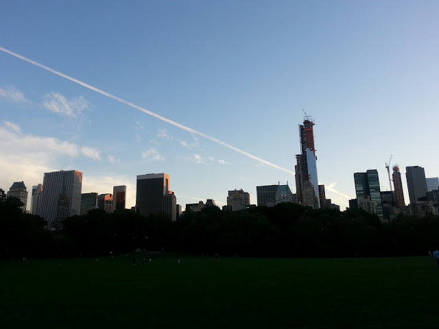 One57 and the Central Park Skyline NYC