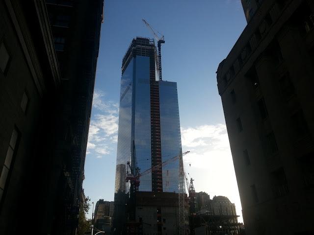 150 Greenwich Street/Four World Trade Center Construction
