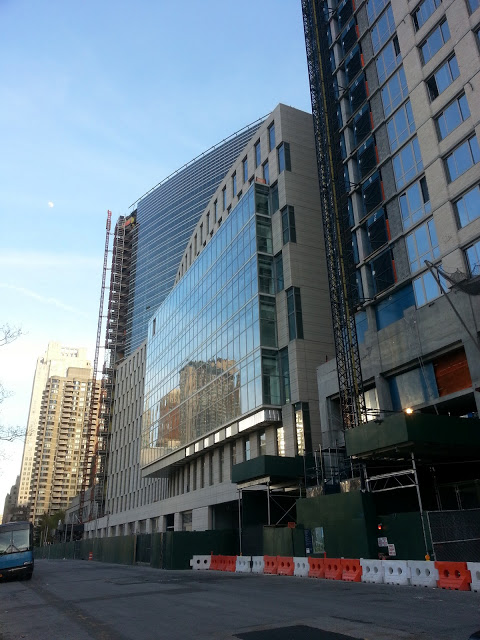 Fordham's new law school and dormitory