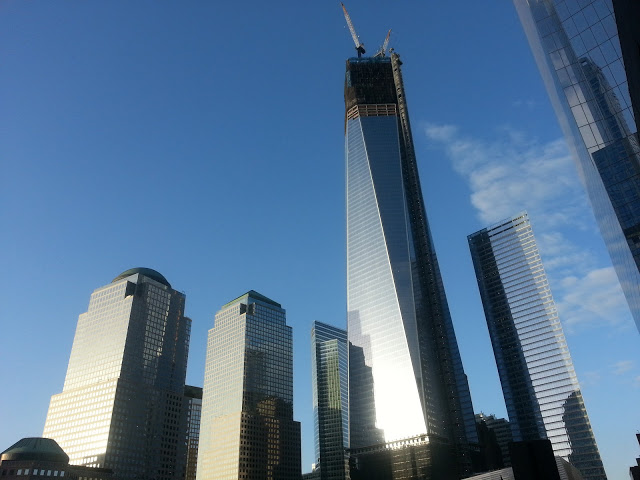 One World Trade Center October 2012 NYC