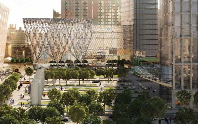 Hudson yards blight york hotel neighborhood for How far is hudson ny from nyc